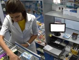 Видеонаблюдение в аптеку